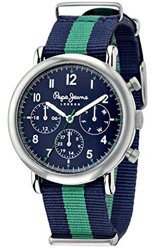 Pepe Jeans Clock with Movement Quartz Japanese Man Charlie 49.5 mm