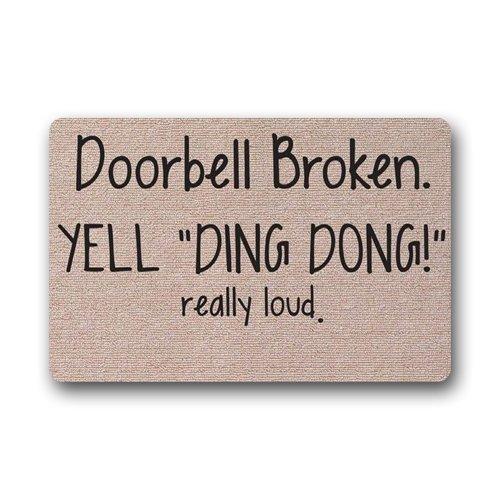 KLing Türklingel gebrochen Yell Ding Dong wirklich laut Indoor Outdoor 16 x 24,40 cm x 60 cm
