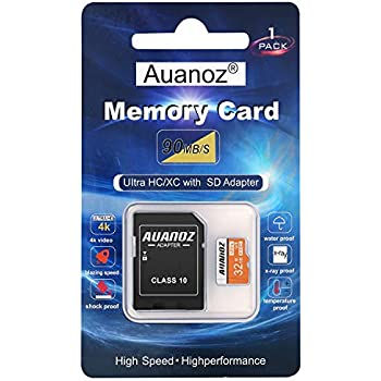 Digi Chip 32 GB micro-SD clase 10 para Huawei P8, P8 Lite y ...