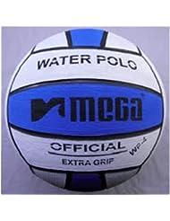 Mega Water Polo Ball - blue white size 5