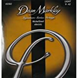 Dean Markley 2502B Jeu de cordes pour Guitare électrique Nickel Steel Light 09-42