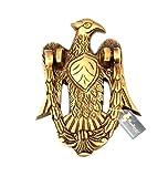 #10: Two Moustaches Vintage Eagle Design Brass Door Knocker