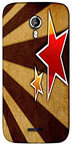 Snoogg Star fan art Designer Protective Back Case Cover For Micromax A117