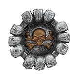 #5: Ashtray Skeleton Skull Design - 1b727 - Cigarette Ash Tray