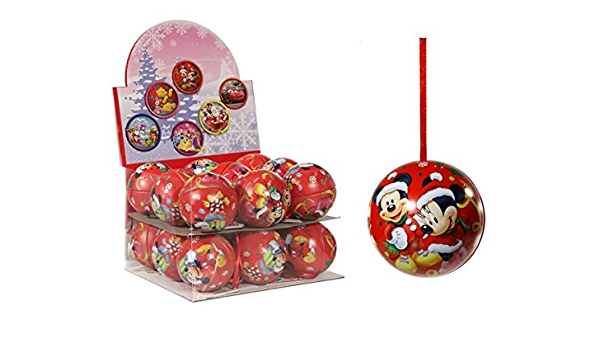 XXXL SET 25 Disney Mickey Minnie Mouse Deko Kugel Weihnachtskugel Anhänger Baum