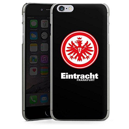 Apple iPhone 7 Silikon Hülle Case Schutzhülle Eintracht Frankfurt Fanartikel Fußball Wappen Hard Case anthrazit-klar