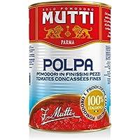 6x Mutti Polpa di Pomodoro Tomato Sauce Pulp 400g 100% Italian! in dose