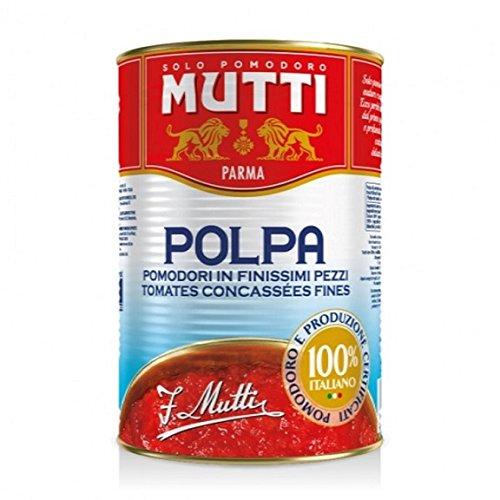 Mutti polpa di Pomodoro Tomatenpulpe Tomaten sauce 100% Italienisch 400g in dose