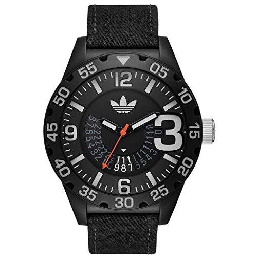 Adidas ADH3157 Montre à quartz analogique pour homme Bracelet en nylon noir