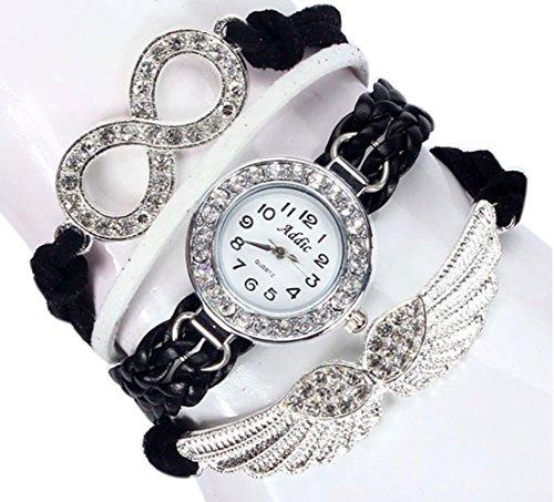 Addic Wings Lucky Charm Bracelet Watch For Women.