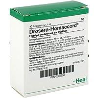 Drosera Homaccord Ampullen 10 stk preisvergleich bei billige-tabletten.eu