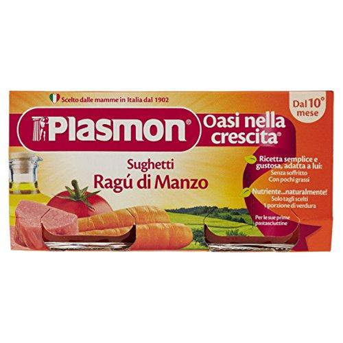 Plasmon Sughetto Ragù di Manzo - 12