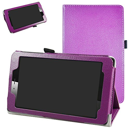 vodafone smart tab mini 7 / ALCATEL pixi 4 7 Funda,Mama Mouth Slim PU Cuero Con...