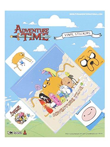 Adventure-Time-Aufkleber-Set-10x125cm-Offiziell-lizenziert