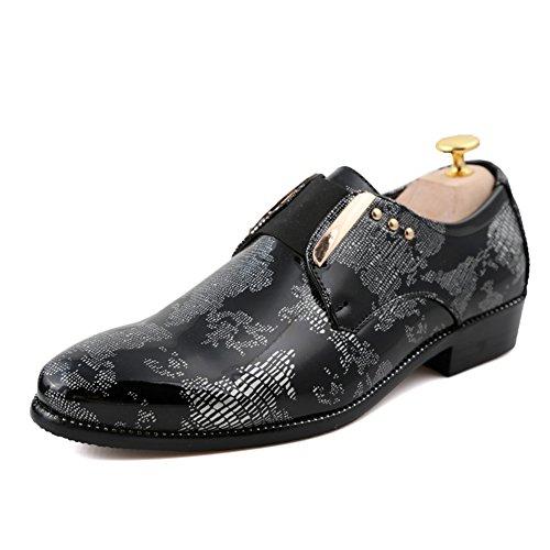 Scarpe di cuoio tagliente di moda estate/Tutti i giorni di scarpe casual/Taglio basso pizzo scarpe business D
