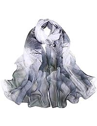 07108b7941f2 AIMEE7 Grand Écharpe Mode Femme Doux Élégant Chic Automne Longue Foulards  Châle Oversize Meilleur Cadeau pour