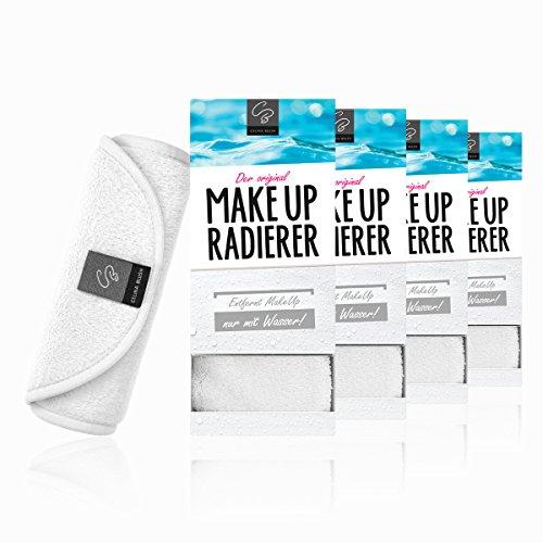Der original MakeUp Radierer   Microfaser Abschminktuch   Gesichtsreinigungstuch   Sensible Haut   Abschminken und Reinigen nur mit Wasser, ohne Chemie   Abschminktücher   Gesichtsreinigungstücher   Mikrofaser Make-Up Entferner   39x17 cm