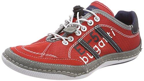 Bugatti Herren 321480066900 Sneaker, Rot (Red), 45 EU
