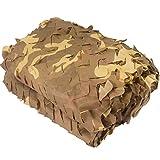 XUE Tarnnetz Dessert für Jagd Wildtier Fotografie Sonnenschutz Camping Camouflage Deko 1,5x2M 2x2M 1,5x3M 2x3M 1,5x5M 2x4M 3x3M 2x6M 3x4M 3x5M 2x8M 4x4M 3x6M 4x5M 4x6M 5x5M 5x6M 6x6M