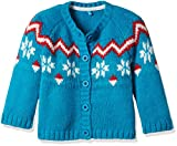 #6: Mothercare Baby Girls' Knitwear (F6472_Blue_12-18 months)