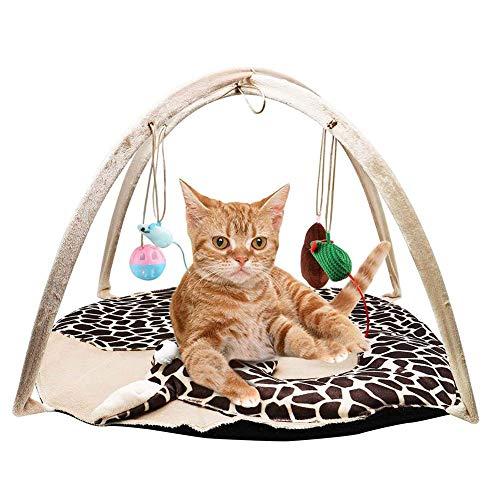 LeKing--Estera de Juguete para Gato, artículos para la Tienda de Juguetes para Mascotas, Jirafa