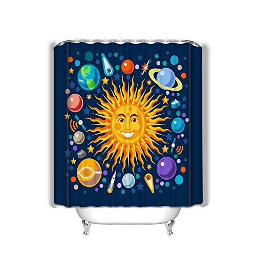 Xunulyn Four Seasons Gifts Shower Curtain Sets with Hooks 60