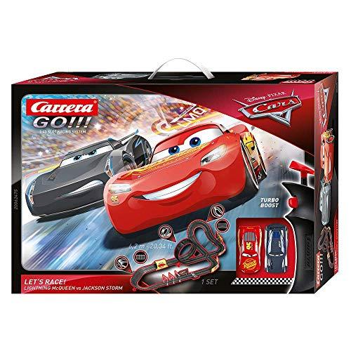 Carrera GO!!! Disney Pixar Cars Let\'s Race 20062475 Autorennbahn Set