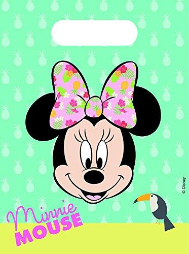 Neu: 6 Partytüten * Minnie Tropical * für Mitgebsel für eine Mottoparty oder Kindergeburtstag // Maus Mouse Party Kinder Geburtstag Geschenktüten Tüten (Party-tüten Minnie Mouse)