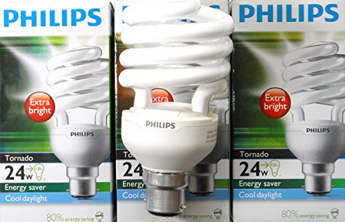 6-x-genuinephilips-tornado-compact-fluorescent-spiral-24w-b22-bayonet-cap-cool-daylight6500k-special