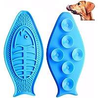 Aolvo [Bad Toys Hunde Lick Lick Pad, Hund Lick Pad Bad Buddy lebensmittelkontakt Silikon Pad Hund Waschen Ablenkung Gerät, Keep Your Hund Happy Sicherheit in der Badewanne