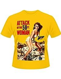 Playlogic International Attack Of The 50ft Woman - Camiseta de manga corta para hombre