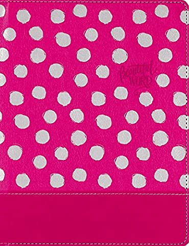 Holy Bible: Niv, Pink, Imitation Leather, Beautiful Word Coloring Bible for Girls: Hundreds of Verses to Color
