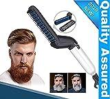 Clomana® Ultra Class Electric Beard/Hair Straightener Care Comb Multifunctional Curly Hair Straightening Curler