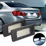 Blanco LED CANBUS licencia número placa luz