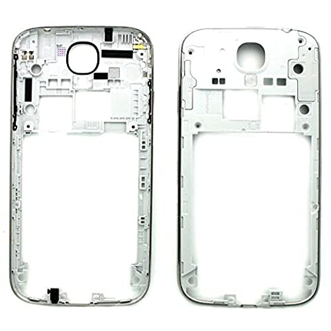 BisLinks® Silver Rear Chassis Back Frame Bezel Réparation for Samsung Galaxy S4 IIII i9500