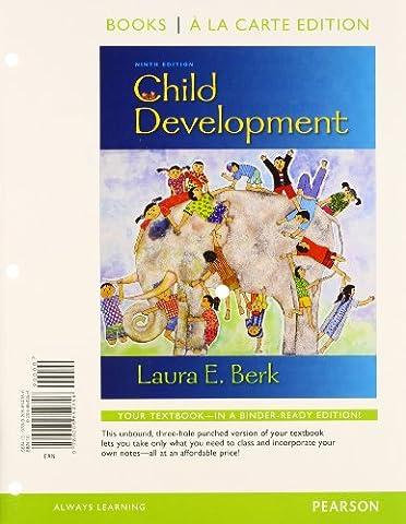 Child Development, Books a la Carte Plus New Mydevelopmentlab with
