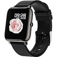 Connected Watch, Bozlun Smart Watch Women Men Waterproof IP67, Smart Bracelet SMS Message, Smartwatch Activity Tracker ...