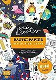Sei kreativ! – Bastelpapier Piraten, Dinos und Co.: Bastelideen und 30 Bogen Motivpapier – Mit leuchtendem Neonpapier
