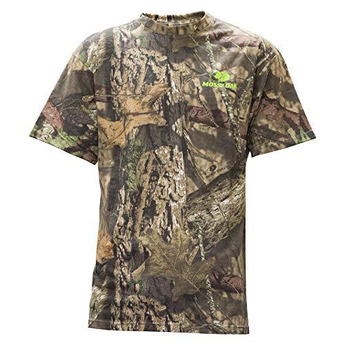 Mossy Oak Camo T-shirt (Staghorn Herren All Over Camo Ss Tee kurzärmelig, Mossy Oak Breakup Country, Medium)