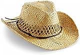 normani Cowboy Hut | Sommerhut | Strohhut Farbe Natur
