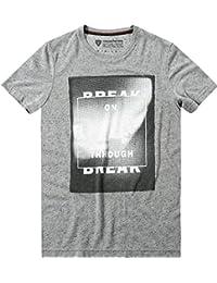 Strellson Sportswear Herren T-Shirt Modisch, Größe: M, Farbe: Grau