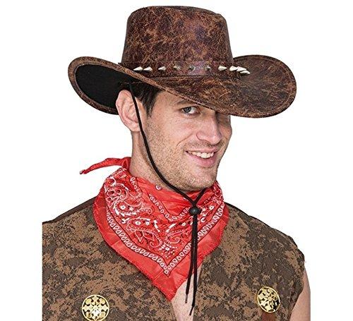 Sombrero Cocodrilo Dundee de imitación cuero