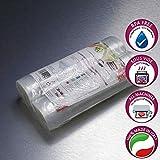 Sacchetti sottovuoto alimenti 20x600cm-2 rotoli. BPA Free. Per tutte le macchine. Cottura sous vide