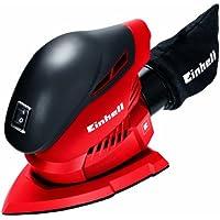 Einhell TH-OS 1016 - Lijadora (100 W) color rojo y negro