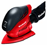 Einhell TH-OS 1016 - Lijadora (100 W) color rojo y negro