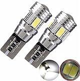 Susenstone 2 x T10 194 W5W 5630 LED 6 SMD CANBUS ERROR coche lado cuña LO3 luz de HID