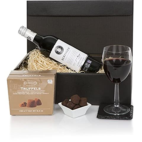 Napa Valley Wein & Schokolade - Kalifornische Weinkörbe und Geschenkkörbe