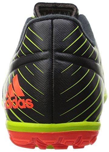 adidas Messi 15.3 TF J, Scarpe da Calcio Unisex Bambino Verde / rosso / nero (Seliso / Rojsol / Negbas)