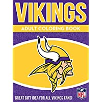 In the Sports Zone Vikings Adult Coloring Book: A Colorful Way to Cheer on Your Team!