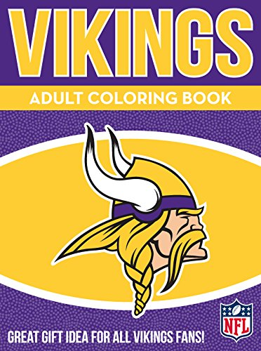 ikings Adult Coloring Book: A Colorful Way to Cheer on Your Team! ()